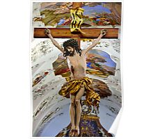 The Cross of Jesus Christ in Stams Monastery Poster