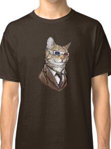 10th Doctor Mew 3D Glasses Classic T-Shirt