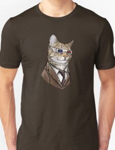 10th Doctor Mew 3D Glasses Unisex T-Shirt