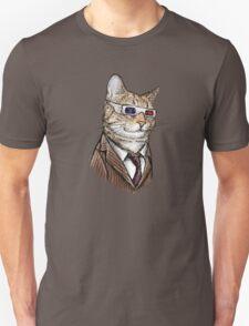 10th Doctor Mew 3D Glasses Unisex T-Shirt