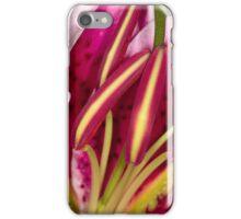 Star burst lily iPhone Case/Skin