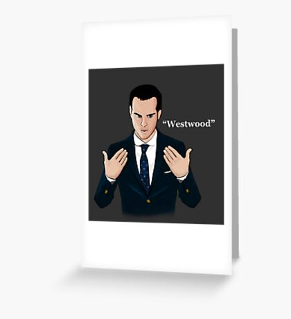 """Westwood"" - Moriarty Greeting Card"