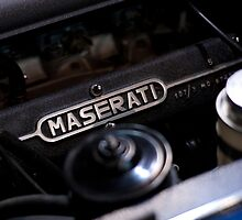 Old Maserati by Jeremy  Barré