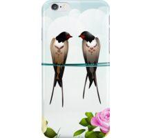 Love Swallows... iPhone Case/Skin