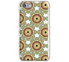 Abstract Flowers Seamless iPhone Case/Skin