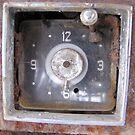 c. 1953 Chrysler Windsor Dashboard Clock by inezadora