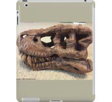 Tyrannosaurus Rex Skull Sculpture iPad Case/Skin