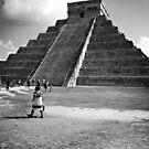 El Castillo - Chichen Itza by Jena Ferguson