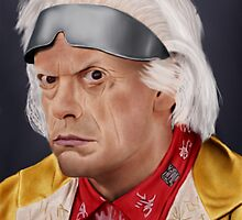 Emmett Brown by SanFernandez