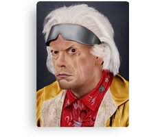 Emmett Brown Canvas Print