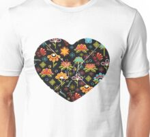 Flower Heart Unisex T-Shirt