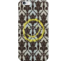 221b Wall Smiley iPhone Case/Skin