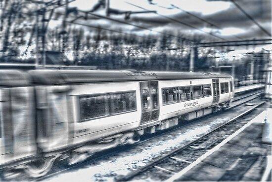 Fast Train by Nigel Bangert