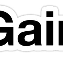#Gainz Sticker