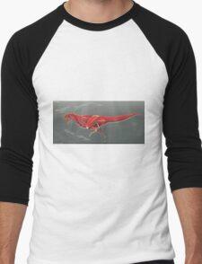 Carnotaurus Muscle Study Men's Baseball ¾ T-Shirt