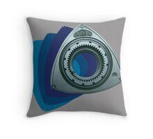 Dorito Power Blue Throw Pillow