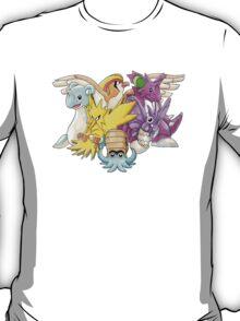 Go Dream Team! | Twitch Plays Pokemon T-Shirt