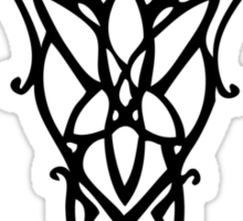 Evenstar - Black Sticker