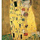 Klimt's The Kiss by trilac
