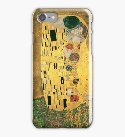 Klimt's The Kiss iPhone Case/Skin