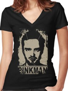 Breaking Bad - Jesse Pinkman Shirt 3 Women's Fitted V-Neck T-Shirt