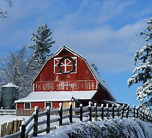 Old Red McCallum Barn by rharrisphotos