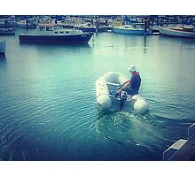 *Going fishing - Where is my Boat! - Williamstown, Vic. Photographic Print