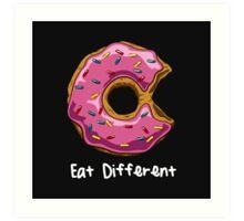 Eat Different Art Print