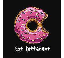 Eat Different Photographic Print