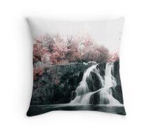 Infrared Waterfall Throw Pillow