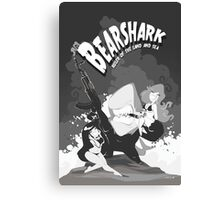 Bearshark, Ruler of the Land and Sea Canvas Print