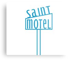 blue motel Metal Print