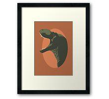 Copper Tyrant Framed Print