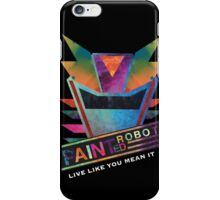 Painted Robot iPhone Case/Skin