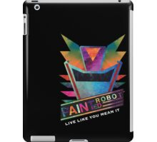 Painted Robot iPad Case/Skin