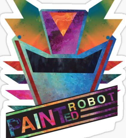 Painted Robot Sticker