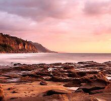 Footprints in the sand by Chris Brunton