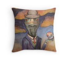 He knows. Throw Pillow