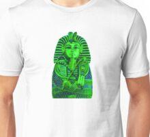King Tut in Green Unisex T-Shirt