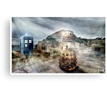 Timey Whimey at Point Nepean Canvas Print