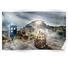 Timey Whimey at Point Nepean Poster