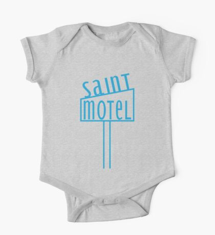 blue motel One Piece - Short Sleeve