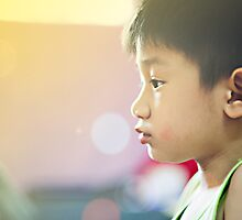 smartly boy by Wey Hun Tan