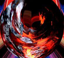 ring of fire  by Wieslaw Jan Syposz