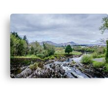 Flowing Through Sneem Canvas Print
