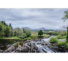 Flowing Through Sneem Photographic Print