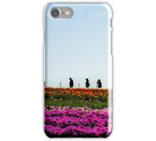 Table Cape Tulips & Silhouettes iPhone Case/Skin