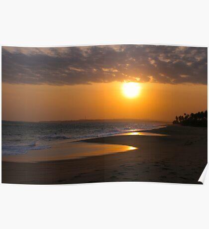 Sri Lankan Sunset Poster