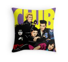Butcher Billy's The Reckless Club Throw Pillow