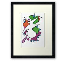 The Abstract Mind Framed Print
